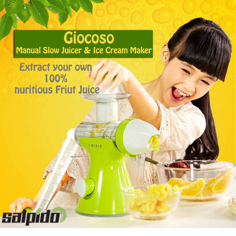Slow Juicer Manual Terbaik : SALPIDO GIOCOSO : Giocoso Manual Slow Juicer